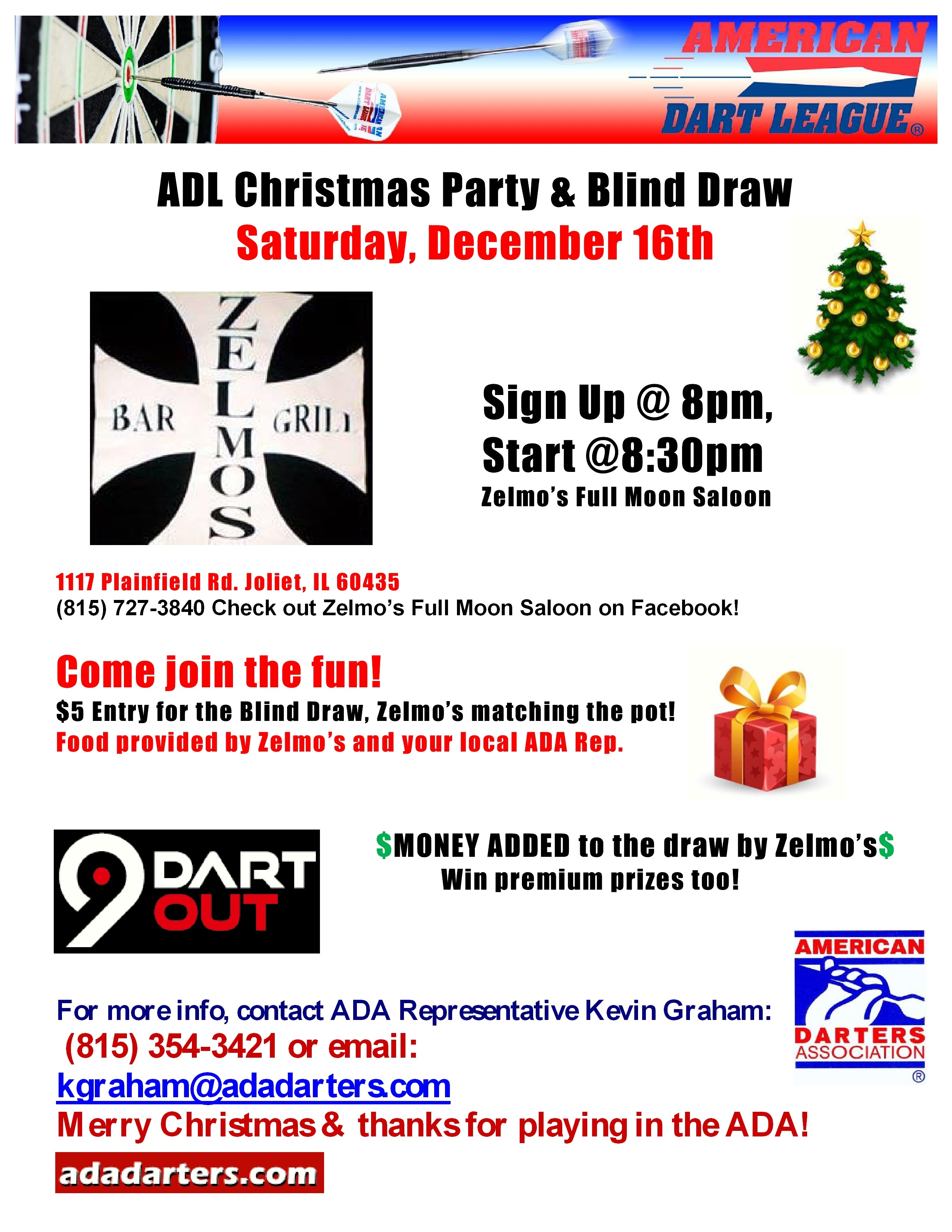 ADL Christmas Party & Blind Draw ADA Area 607 ADA The